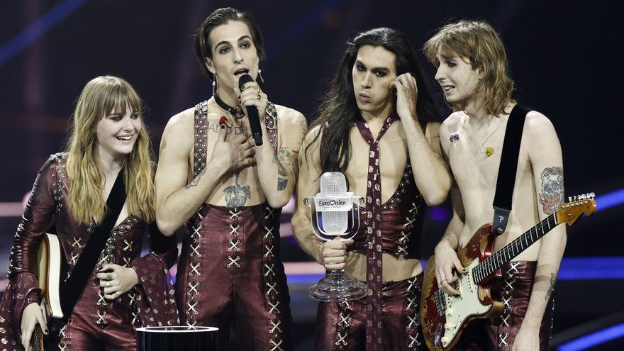 Maneskin, los ganadores de Eurovisión, acusados de plagio
