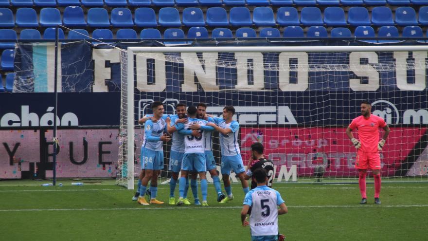 El Málaga se aleja del descenso: 9 puntos de ventaja sobre el 19º