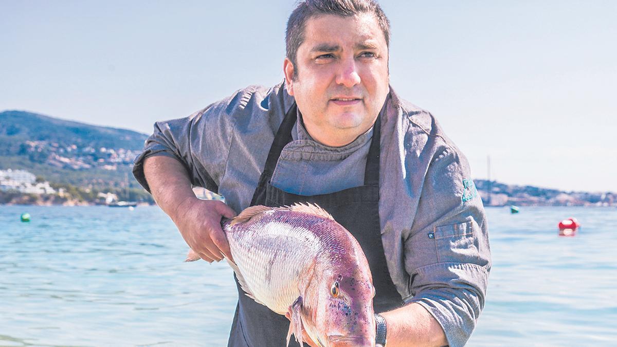 Claudio Vargas fusiona sabores del mundo y producto de calidad con pescados frescos