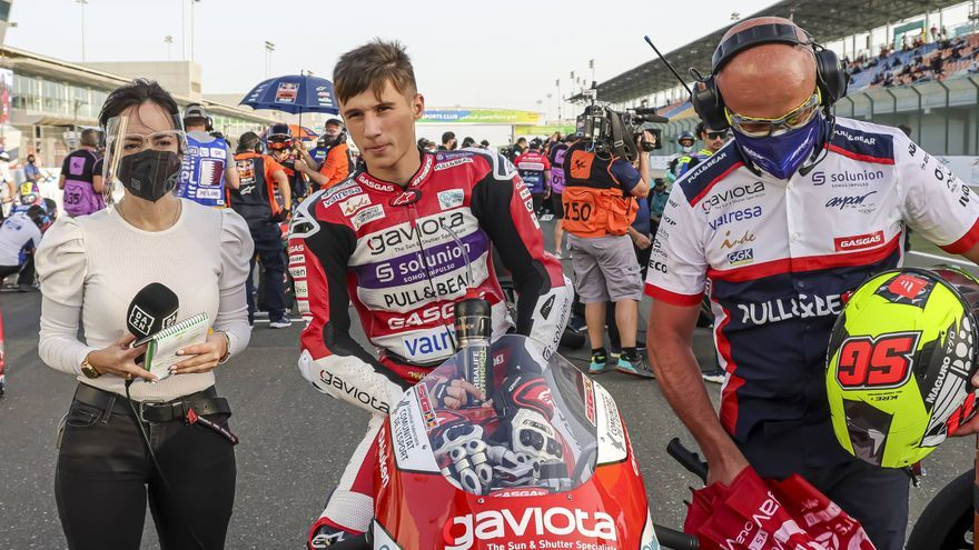 El propósito de Sergio García para el regreso del Mundial de Moto3