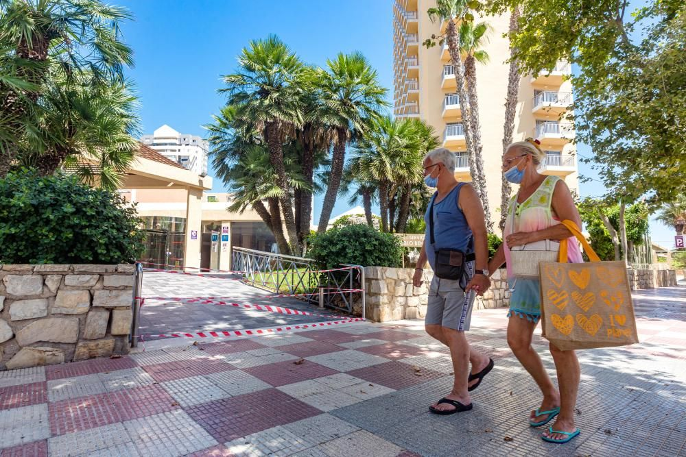 Coronavirus: La Costa Blanca echa el cierre a sus primeros nueve hoteles por la falta de turistas