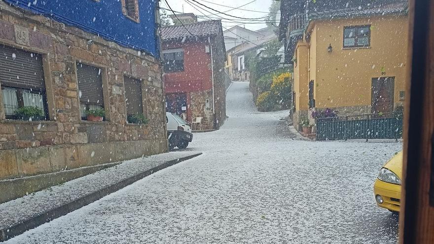 Rayos y granizo: así está el tiempo hoy en Asturias
