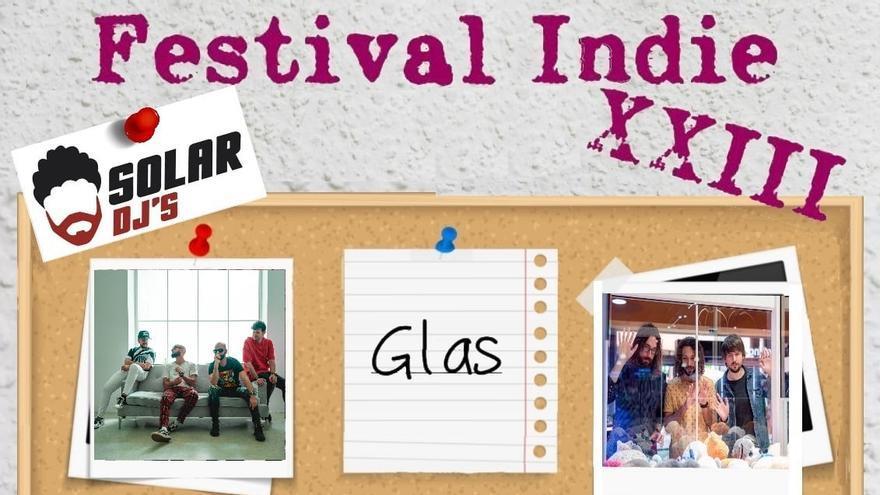 El Festival Indie aplazado el pasado julio por la pandemia  se celebra el 6 de noviembre en el parque Juan XXIII