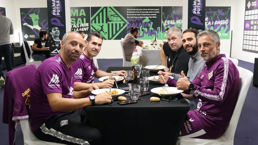 El Palma Futsal habilita un nuevo espacio de convivencia para la plantilla en Son Moix