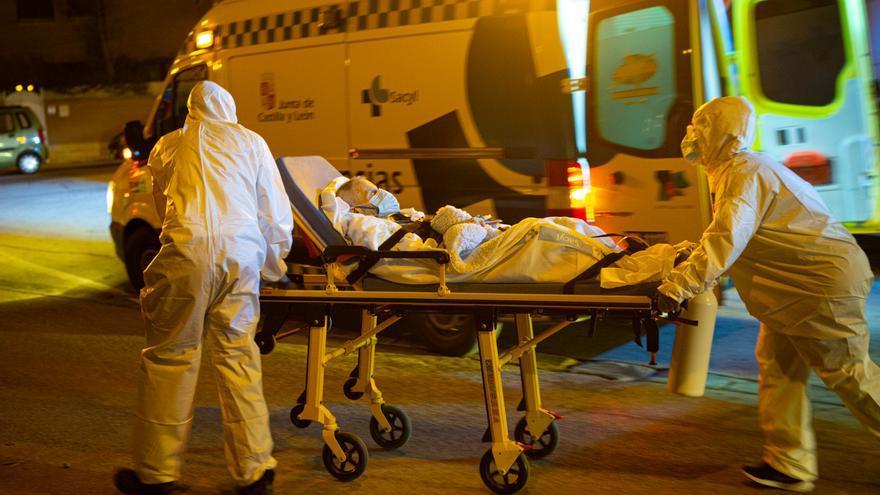 Fallece una de las once personas ingresadas en el hospital de Soria tras un incendio de la residencia de mayores