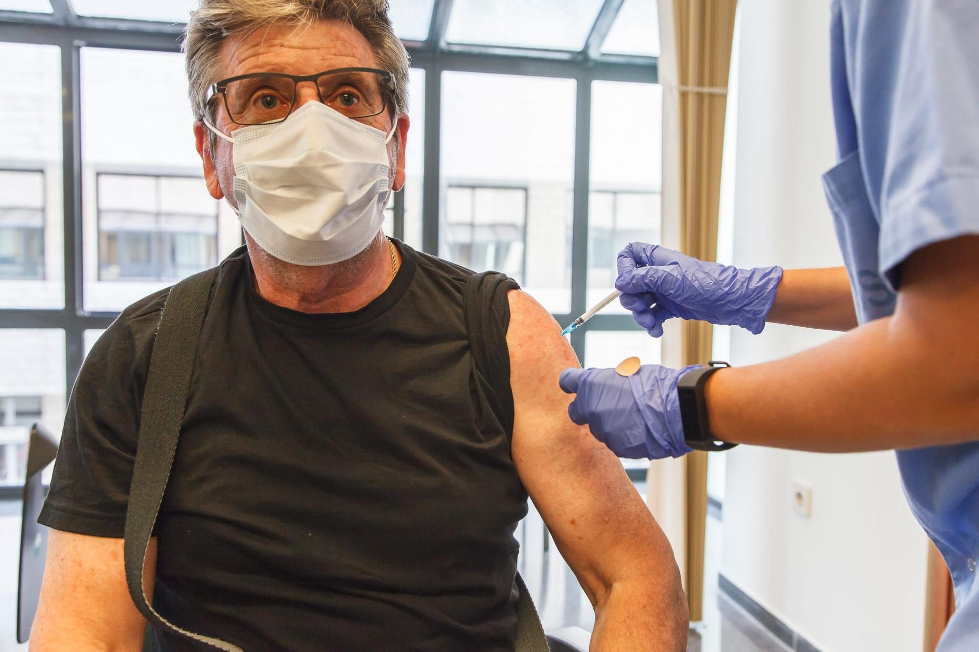 Inicio de la vacunación contra la COVID-19 con la vacuna de Jannsen