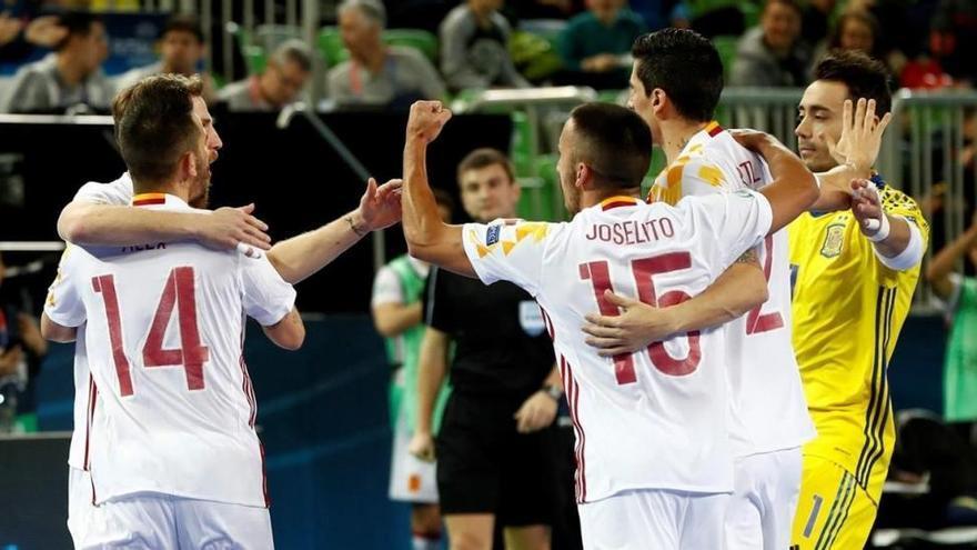 España se juega ante Portugal la corona europea de fútbol sala