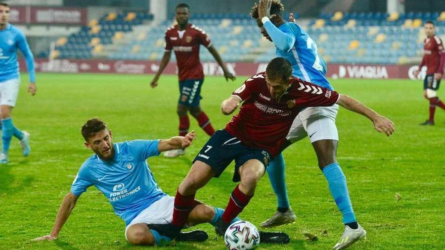 Triste adiós del Pontevedra a la Copa