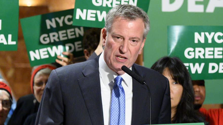 El alcalde Nueva York se suma a las primarias demócratas