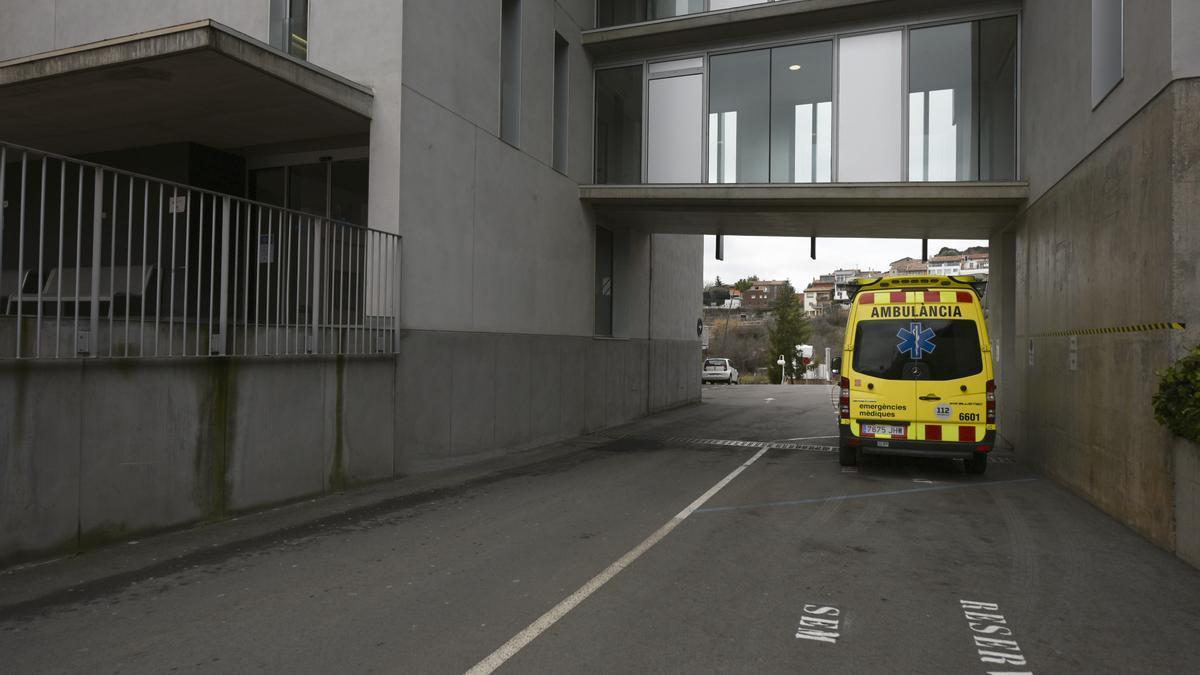 Imatge d'arxiu de l'exterior de l'hospital de Berga