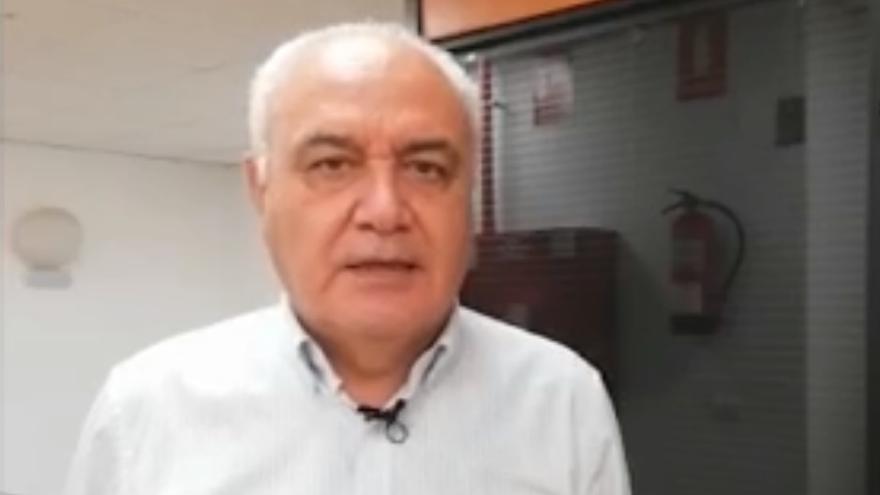 """Morcuende: """"la colada no está afectando ni afectará a Puerto Naos"""""""