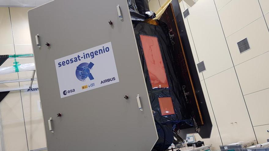 El satélite español Ingenio parte a Guayana Francesa para ser lanzado en noviembre