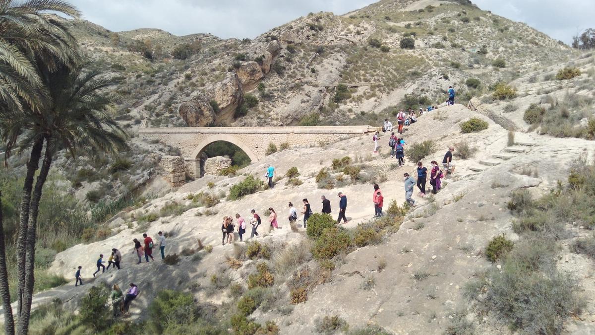Visitantes en el Pantano de Elche en los últimos días