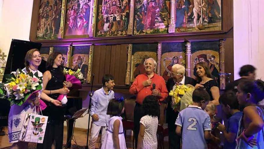 Apoyo rotundo de Valdescorriel al concierto por Mensajeros de la Paz
