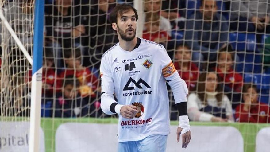 Carlos Barrón recibe el alta médica tras superar el coronavirus y hoy ya entrenará con el Palma Futsal