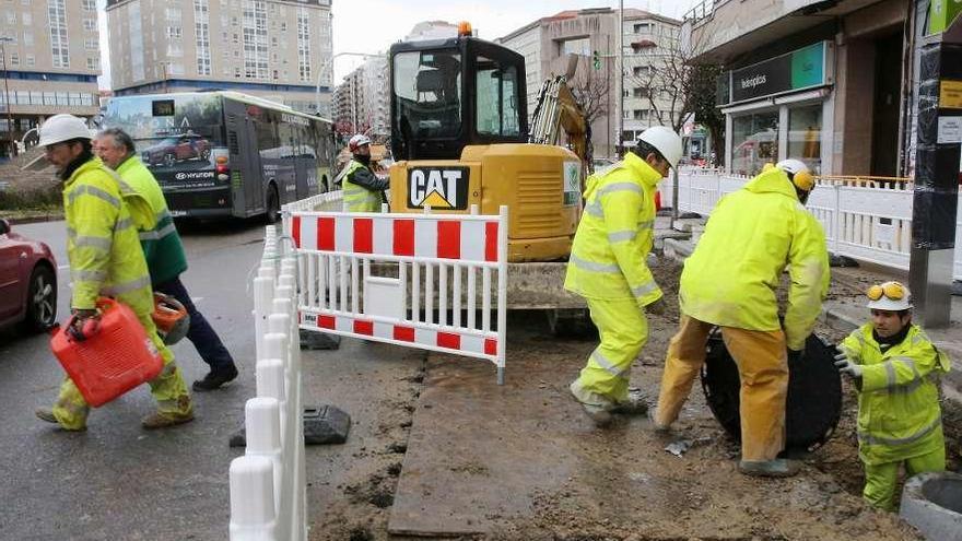 El sector de la construcción necesitará este año 900 nuevos trabajadores para las obras de Vigo