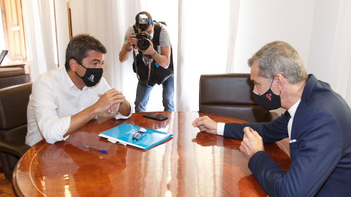 Toni Cantó apoya ahora a Carlos Mazón en su conflicto por el Fondo de Cooperación