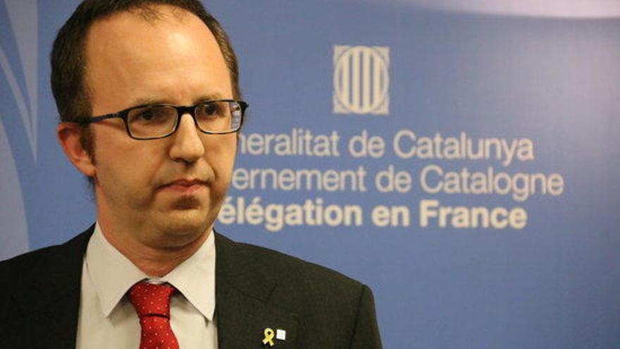 """El delegat del Govern a França confia recuperar el turisme francès """"fent pedagogia i dient la veritat"""""""