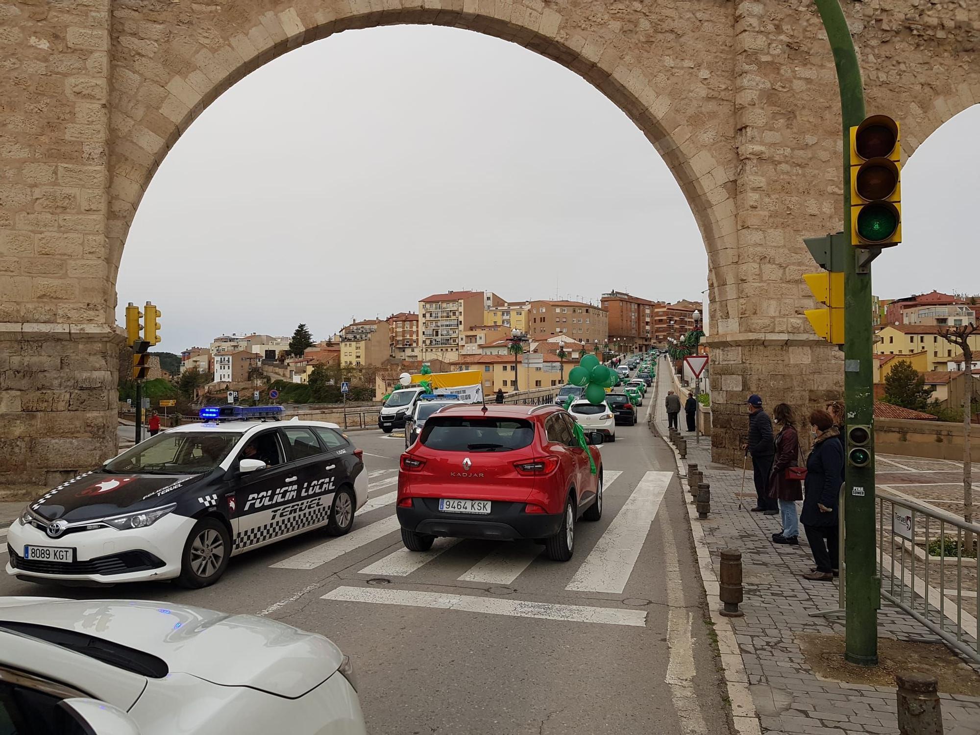 Manifestación en Teruel.