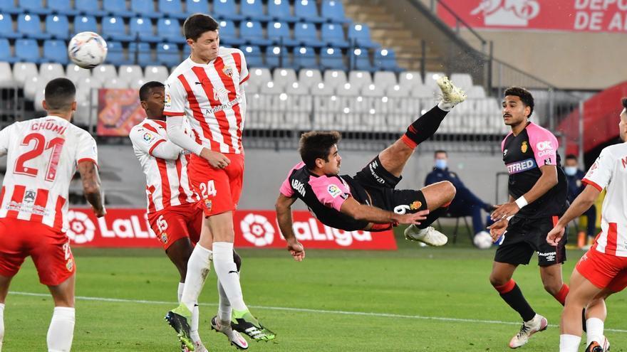 Abdón dispara al Mallorca con un gol de chilena
