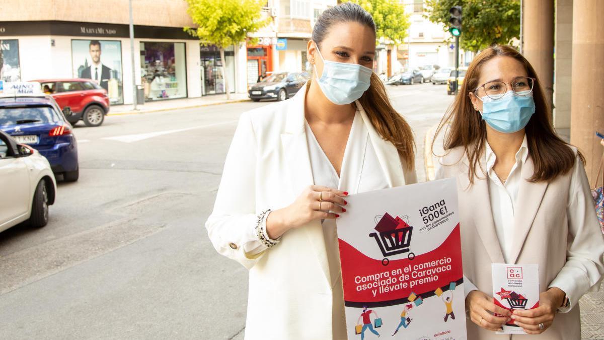Caravaca inicia una campaña para dinamizar el comercio local