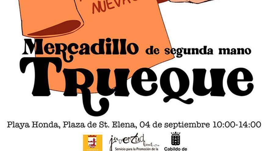 Playa Honda organiza mañana Trueque, un  mercadillo de segunda mano