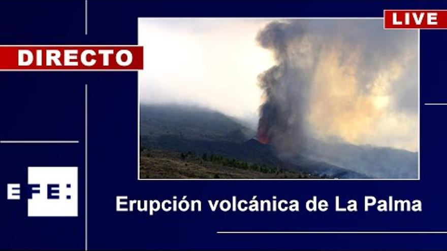 L'erupció del volcà de Cumbre Vieja a La Palma, en directe