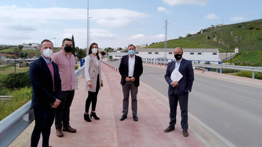 La Diputación invierte 1,9 millones en carreteras de la provincia de Córdoba