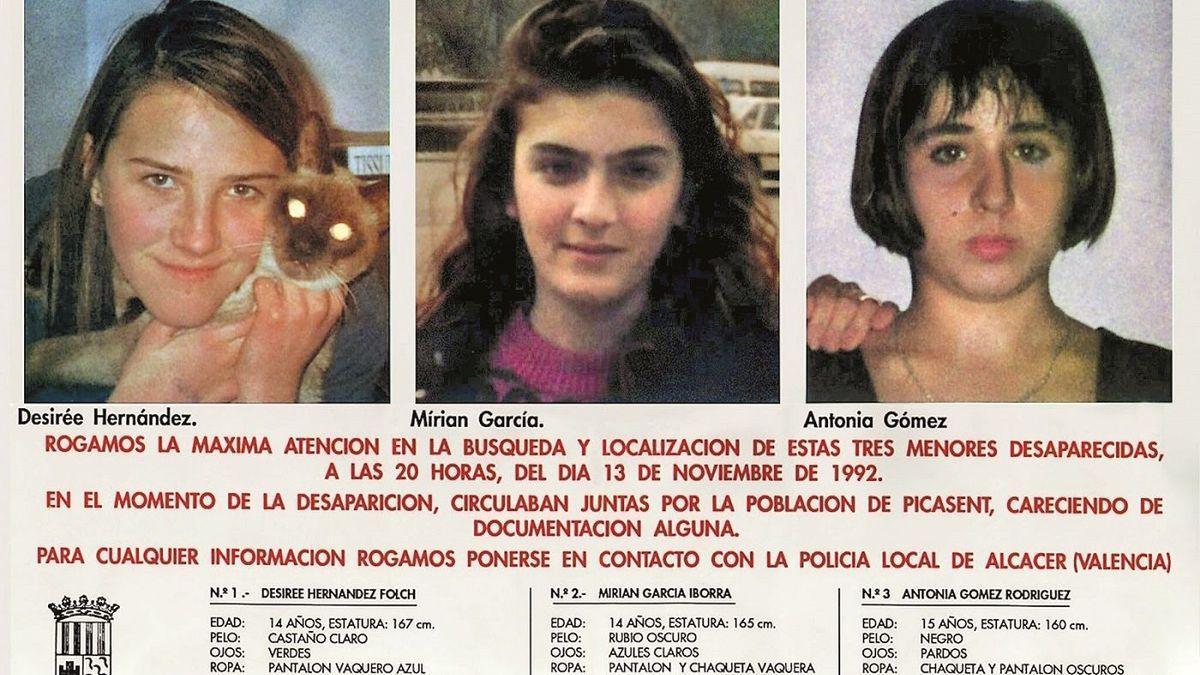 Las niñas asesinadas en Alcásser.