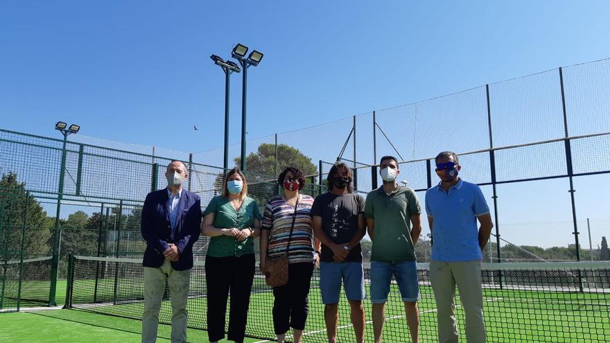 Figueres finalitza les obres de les pistes de pàdel i la reordenació de l'entorn de la zona esportiva