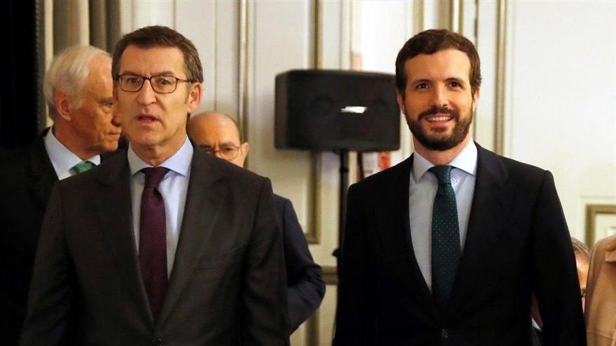 """Casado luchará contra la """"lesiva"""" armonización fiscal de Sánchez"""