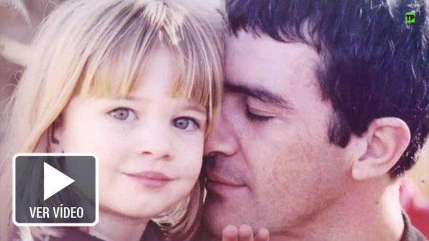 Toñi Moreno estrena 'El árbol de tu vida' con Banderas