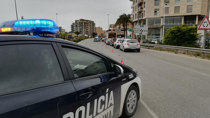 Detenido en Molina por llevar droga y saltarse el toque de queda un hombre buscado por maltratador
