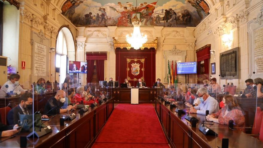 La oposición de Málaga convoca un pleno extraordinario sobre transparencia