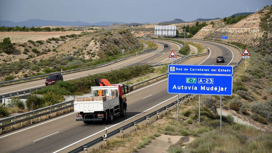 Afecciones en la A-23 entre Cuarte y Zaragoza la próxima semana por obras