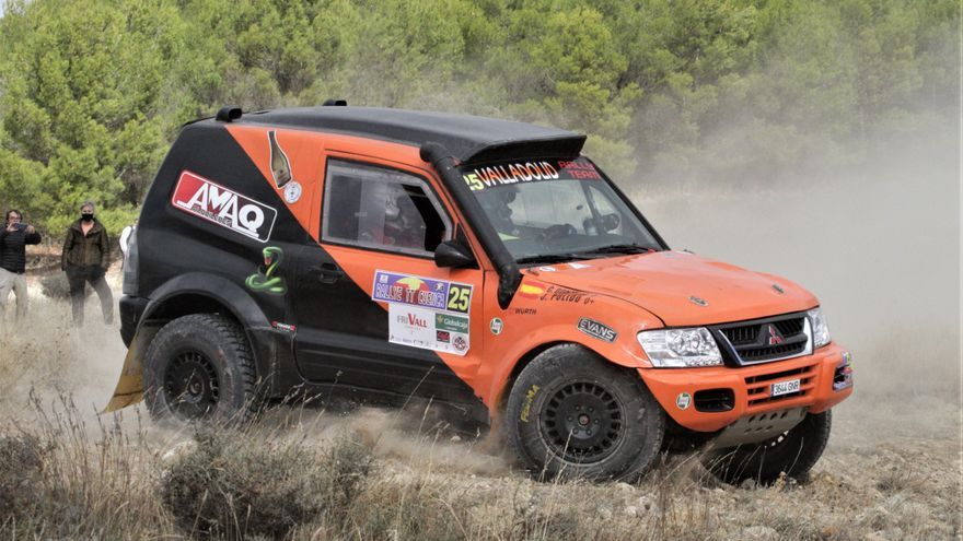 El toresano Jorge Pulido, quinto en el Rally de Cuenca