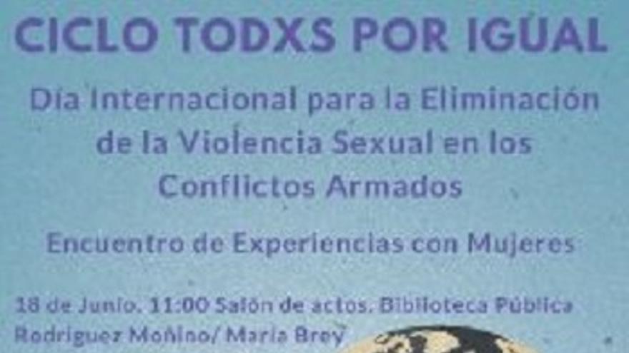 Dia Internacional para la Eliminacion de la Violencia Sexual en los Conflictos Armados