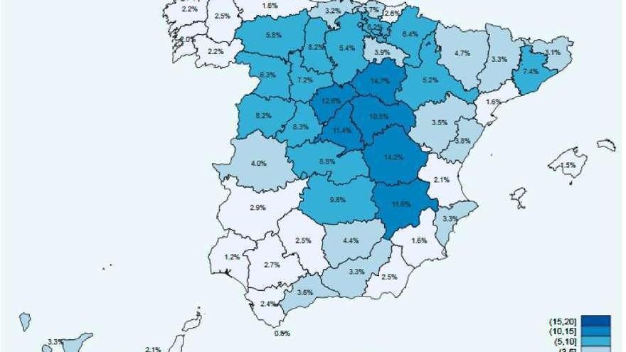 Zamora ocupa los lugares intermedios en anticuerpos de coronavirus.