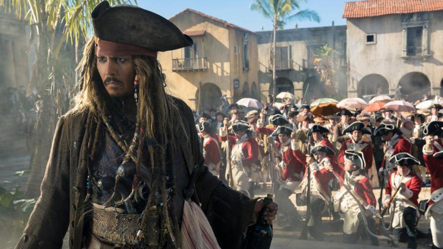La cartellera: Torna Jack Sparrow en la cinquena cinta de 'Pirates del Carib'
