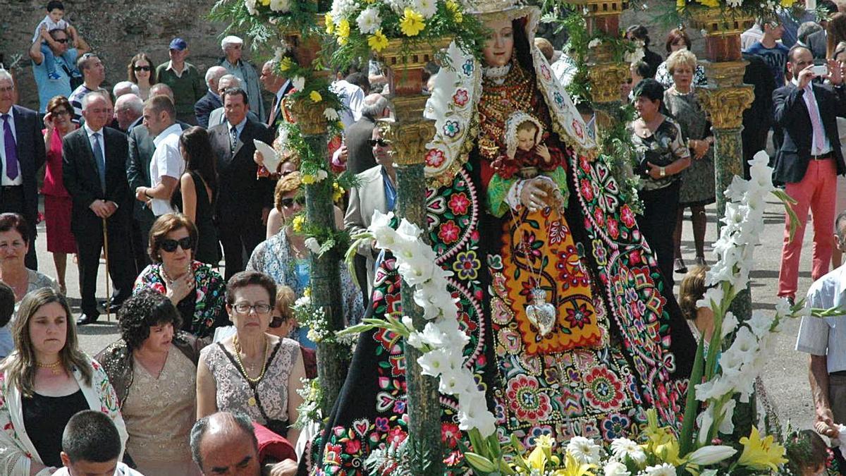 La Virgen de Árboles contra las pandemias