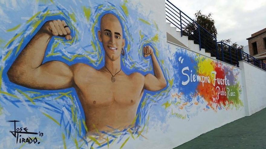 El bonito homenaje que un pueblo de Málaga le ha hecho a Pablo Raez