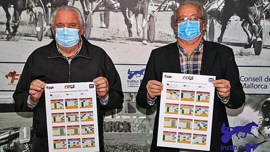 Presentado el calendario en Manacor y Son Pardo para 2021