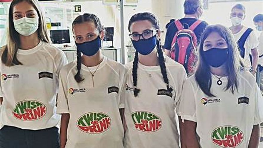 Cuatro clubes mallorquines deciden participar en el Campeonato de España de voley playa