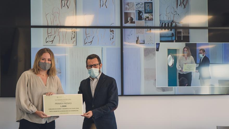 Marta Cuartero y Mercedes Olcina ganan el concurso de diseño de la Cátedra AITEX-UPV