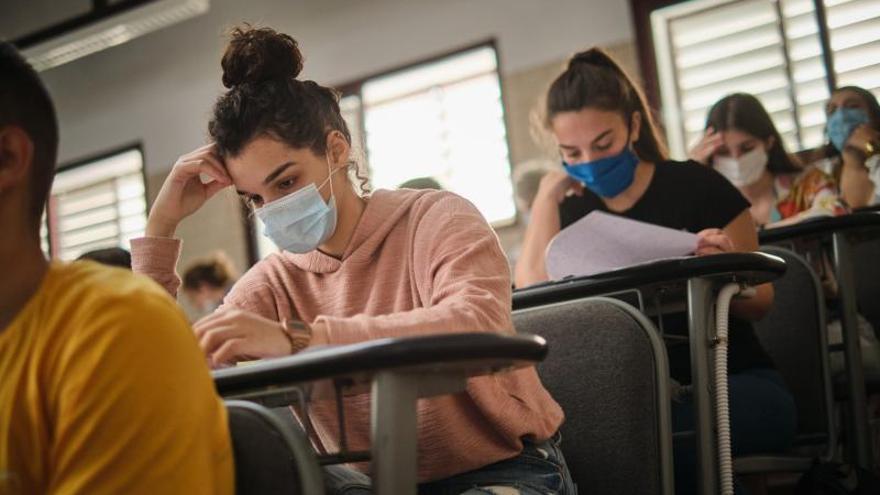 Los estudiantes en cuarentena podrán realizar la EBAU en la convocatoria de julio