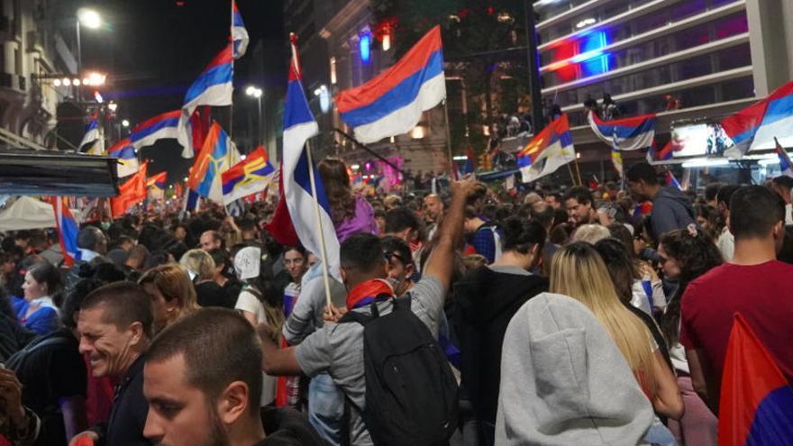 La fiesta de la democracia en Uruguay