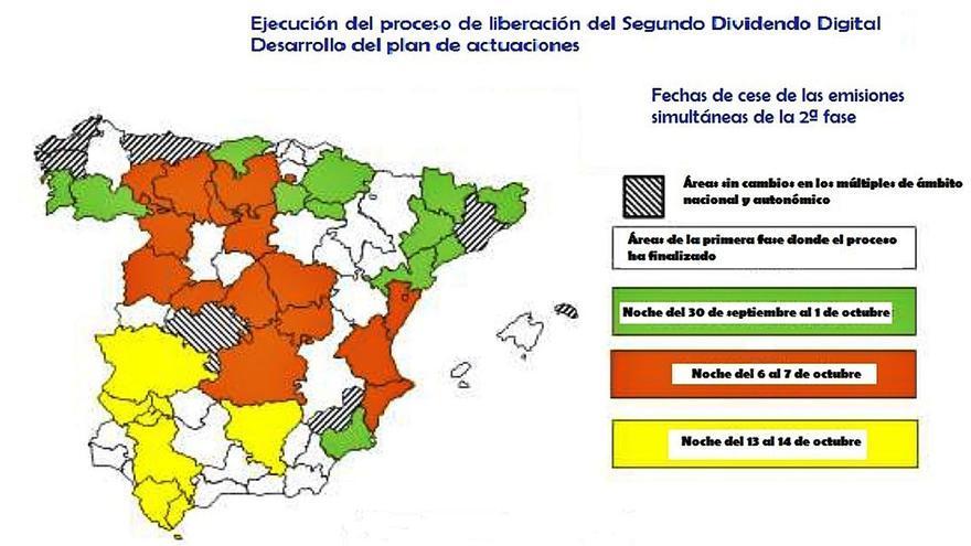 Todos los televisores de Zamora se deberán resintonizar el 7 de octubre