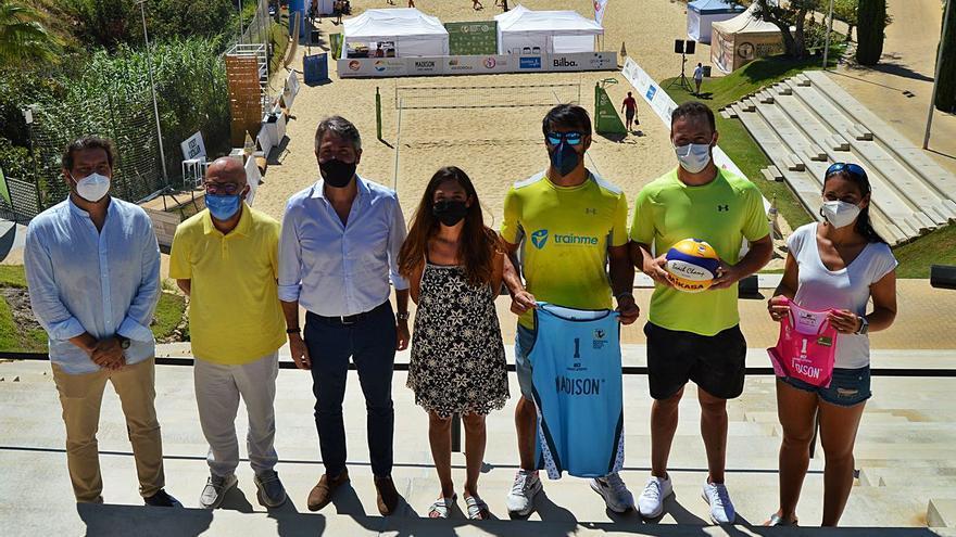 La elite nacional del vóley playa se cita en Fuengirola