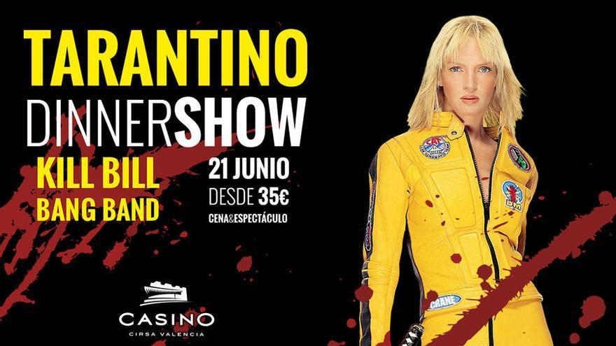 Tarantino 'desencadenado', en Casino Cirsa Valencia
