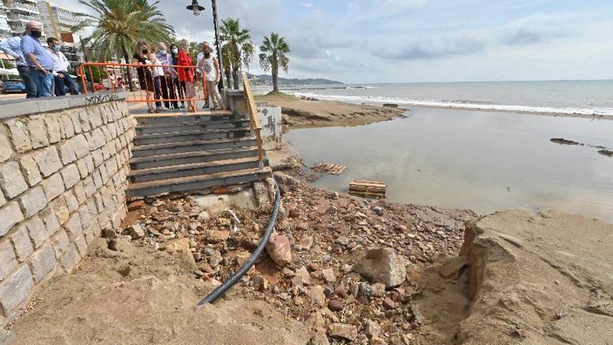 El Consell inicia las actuaciones para reparar los daños del último temporal